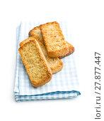 Купить «crispy Italian antipasto bruschetta», фото № 27877447, снято 22 ноября 2019 г. (c) PantherMedia / Фотобанк Лори