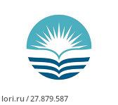Купить «Water wave Logo Template», иллюстрация № 27879587 (c) PantherMedia / Фотобанк Лори
