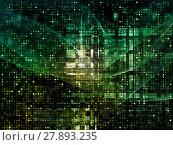 Купить «Acceleration of Digital Grid», фото № 27893235, снято 16 июля 2019 г. (c) PantherMedia / Фотобанк Лори