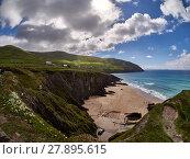 Купить «Beach near Slea head in Dingle, Ireland», фото № 27895615, снято 26 марта 2019 г. (c) PantherMedia / Фотобанк Лори