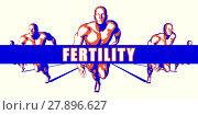 Купить «Fertility as a Competition Concept Illustration Art», фото № 27896627, снято 18 января 2019 г. (c) PantherMedia / Фотобанк Лори