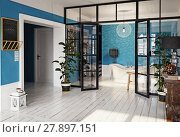 Купить «modern apartment interior.», фото № 27897151, снято 10 декабря 2018 г. (c) Виктор Застольский / Фотобанк Лори