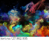 Купить «Metaphorical Space Nebula», фото № 27902935, снято 20 июля 2018 г. (c) PantherMedia / Фотобанк Лори