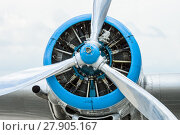 Купить «Radial engine of an aircraft. Close-up.», фото № 27905167, снято 19 января 2019 г. (c) PantherMedia / Фотобанк Лори