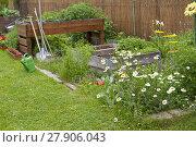 Купить «garden in summer», фото № 27906043, снято 22 апреля 2019 г. (c) PantherMedia / Фотобанк Лори