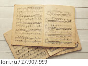 Купить «Music notes», фото № 27907999, снято 18 июля 2018 г. (c) PantherMedia / Фотобанк Лори