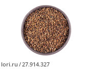 Купить «Decorticated cardamom seeds in a bowl», фото № 27914327, снято 18 марта 2019 г. (c) PantherMedia / Фотобанк Лори