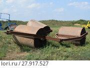 Купить «Trailer Hitch for tractors and combines», фото № 27917527, снято 17 июня 2019 г. (c) PantherMedia / Фотобанк Лори
