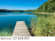 Купить «landscape at lake trünnensee at the mecklenburg lake district», фото № 27934051, снято 24 июля 2019 г. (c) PantherMedia / Фотобанк Лори