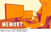 Купить «Memory Concept Course», фото № 27935027, снято 18 января 2019 г. (c) PantherMedia / Фотобанк Лори