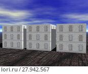 Купить «accommodation skycraper accomodation eigentumswohnungen housing», фото № 27942567, снято 23 марта 2019 г. (c) PantherMedia / Фотобанк Лори
