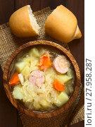 Купить «Sauerkraut Soup or Stew», фото № 27958287, снято 20 апреля 2018 г. (c) PantherMedia / Фотобанк Лори