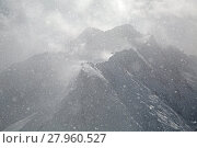 Купить «Heavy snowfall in the ALps», фото № 27960527, снято 21 мая 2019 г. (c) PantherMedia / Фотобанк Лори