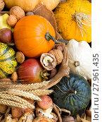 Купить «Autumn background», фото № 27961435, снято 19 декабря 2018 г. (c) PantherMedia / Фотобанк Лори