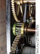 Купить «cogs of a clockwork», фото № 27965759, снято 23 января 2019 г. (c) PantherMedia / Фотобанк Лори