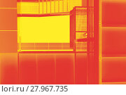 Купить «abstract fire escape», фото № 27967735, снято 19 июня 2019 г. (c) PantherMedia / Фотобанк Лори