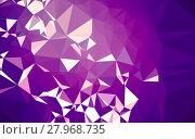 Купить «Abstract low poly background, geometry triangle», фото № 27968735, снято 19 июня 2019 г. (c) PantherMedia / Фотобанк Лори