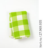 Купить «checkered tea towel», фото № 27969935, снято 19 февраля 2018 г. (c) PantherMedia / Фотобанк Лори