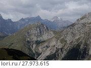 Купить «gewitterstimmung in the mountains», фото № 27973615, снято 17 июля 2019 г. (c) PantherMedia / Фотобанк Лори