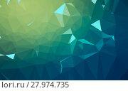 Купить «Abstract low poly background, geometry triangle», фото № 27974735, снято 19 июня 2019 г. (c) PantherMedia / Фотобанк Лори