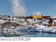 Купить «Геотермальная электростанция на Камчатке», фото № 27976239, снято 22 октября 2017 г. (c) А. А. Пирагис / Фотобанк Лори
