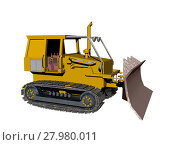 Купить «bulldozer machines dredger baggerschaufel baustellenfahrzeug», фото № 27980011, снято 19 марта 2019 г. (c) PantherMedia / Фотобанк Лори