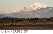 Купить «Mount Mt Baker Puget Sound North Cascades Padilla Bay», фото № 27985151, снято 19 августа 2019 г. (c) PantherMedia / Фотобанк Лори