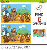 Купить «game of differences with animals», иллюстрация № 27990007 (c) PantherMedia / Фотобанк Лори