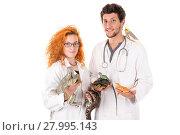 Купить «Veterinarian team», фото № 27995143, снято 3 апреля 2020 г. (c) PantherMedia / Фотобанк Лори