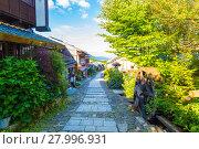 Купить «Morning Nakasendo Trail Magome Blue Sky H», фото № 27996931, снято 19 сентября 2019 г. (c) PantherMedia / Фотобанк Лори