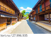 Купить «Nakasendo Tsumago Empty Main Street Stores H», фото № 27996935, снято 14 ноября 2018 г. (c) PantherMedia / Фотобанк Лори