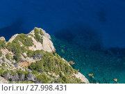 Купить «sunny day with sea views.», фото № 27998431, снято 20 июня 2019 г. (c) PantherMedia / Фотобанк Лори