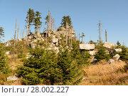 Купить «Dreisesselberg - Naturschutzgebiet am Dreiländereck», фото № 28002227, снято 27 марта 2019 г. (c) PantherMedia / Фотобанк Лори