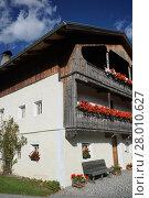 Купить «abfaltersbach,village,farmhouse,barn,pusteria,hochpustertal,church,mill», фото № 28010627, снято 20 мая 2019 г. (c) PantherMedia / Фотобанк Лори