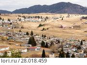 Купить «High Angle Overlook Walkerville Montana Downtown USA United States», фото № 28018459, снято 27 марта 2019 г. (c) PantherMedia / Фотобанк Лори