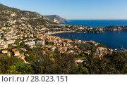 Купить «Panoramic view of Nica in France», фото № 28023151, снято 3 декабря 2017 г. (c) Яков Филимонов / Фотобанк Лори