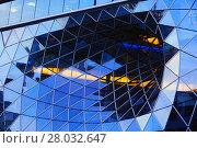 Купить «Take a gander at a generous glass facade», фото № 28032647, снято 23 июля 2019 г. (c) PantherMedia / Фотобанк Лори