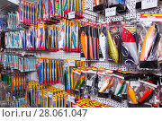 Купить «In fishing shop in Barcelona», фото № 28061047, снято 16 января 2018 г. (c) Яков Филимонов / Фотобанк Лори