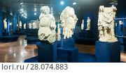 Купить «Ancient sculpture in Historical Museum of Budapest», фото № 28074883, снято 29 октября 2017 г. (c) Яков Филимонов / Фотобанк Лори