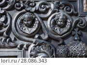 Купить «Херувимы на оружейном лафете старинной пушки в Московском кремле», фото № 28086343, снято 26 сентября 2015 г. (c) Алёшина Оксана / Фотобанк Лори