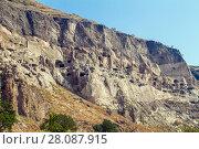 Купить «Vardzia cave monastery, Georgia», фото № 28087915, снято 23 сентября 2017 г. (c) Андрей Пожарский / Фотобанк Лори