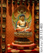 Купить «Сингапур. Храмовая утварь и буддистские реликвии храма Священного Зуба Будды», фото № 28113483, снято 27 ноября 2014 г. (c) Галина Савина / Фотобанк Лори