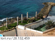 Купить «Monument to Mediterranean Cultures in the Torrevieja city. Costa Blanca. Spain», фото № 28132459, снято 4 марта 2018 г. (c) Alexander Tihonovs / Фотобанк Лори