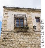 Antigua ventana de forja. Úbeda. Jaén. Andalusia. Spain. Стоковое фото, фотограф David Miranda / age Fotostock / Фотобанк Лори