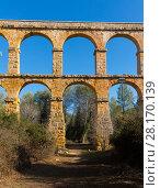 Купить «Pont del Diable, Tarragona», фото № 28170139, снято 31 января 2018 г. (c) Яков Филимонов / Фотобанк Лори