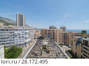 Купить «Above view of flat roof of one of modern buildings of Monaco, аnd neighborhood», фото № 28172495, снято 3 августа 2016 г. (c) Losevsky Pavel / Фотобанк Лори