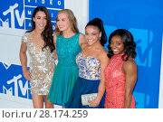 Aly Raisman, Madison Kocian, Laurie Hernandez and Simone Biles attending... (2016 год). Редакционное фото, фотограф WENN.com / age Fotostock / Фотобанк Лори