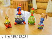Купить «Свистульки игрушки», фото № 28183271, снято 19 июня 2017 г. (c) hommik / Фотобанк Лори