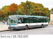 Купить «Irisbus Citelis 12M Line», фото № 28183691, снято 8 августа 2014 г. (c) Art Konovalov / Фотобанк Лори