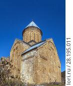 Купить «Ananuri fortress, Georgia», фото № 28195011, снято 6 октября 2017 г. (c) Boris Breytman / Фотобанк Лори